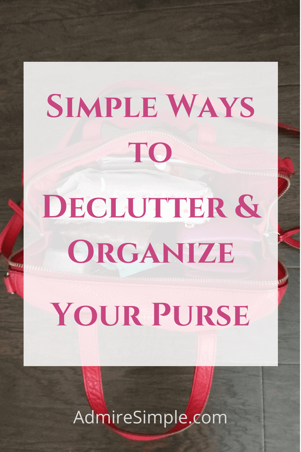 Declutter & organize your purse, clean out purse, what's in my handbag