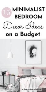 minimalist bedroom ideas, minimalist decor, bedroom makeover on a budget, budget-friendly small bedroom ideas