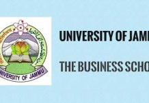 University of Jammu The Business School