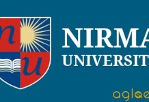 Nirma University B.Tech Admission 2014