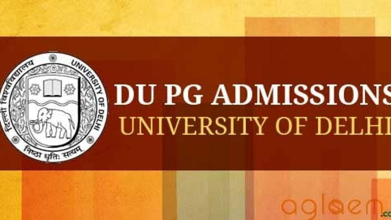 Du Application Form Date 2016, Du Pg Application Form 2019 Last Date To Apply 22 June, Du Application Form Date 2016