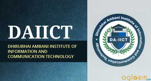 DAIICT 2014 Admissions