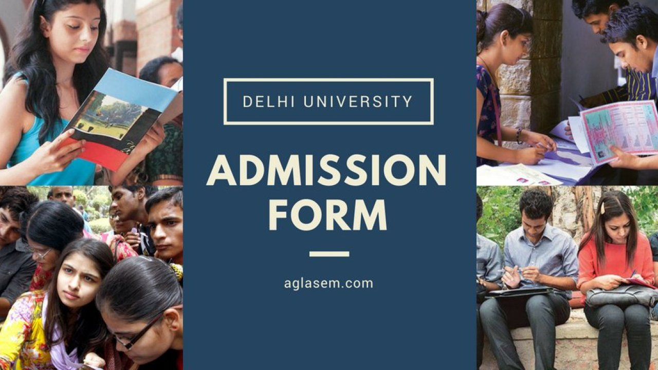 Online Application Form Du 2017, Du Admission Form 2019, Online Application Form Du 2017