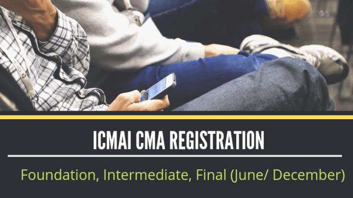 ICMAI CMA Registration