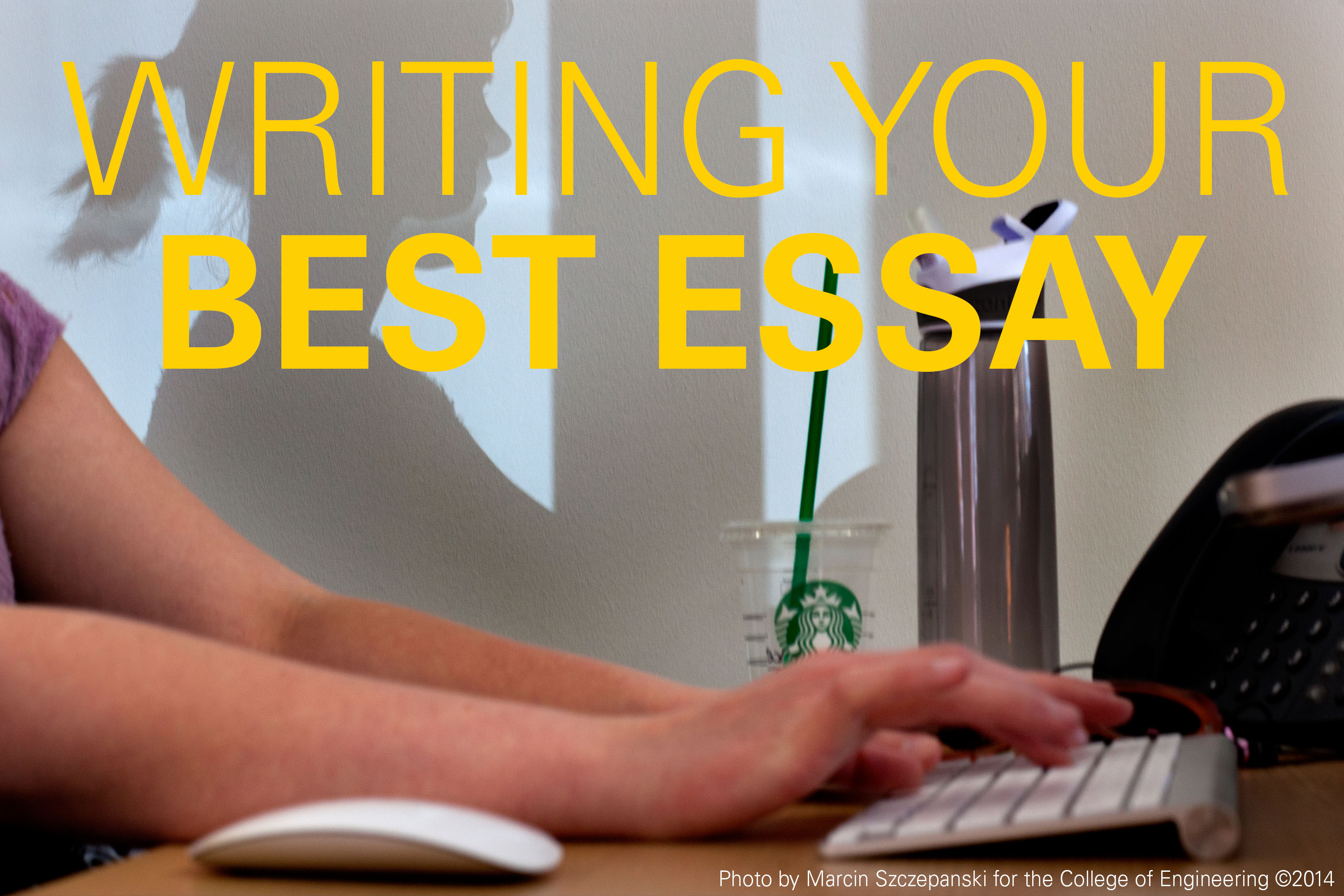 Writing That College Essay A Little Advice
