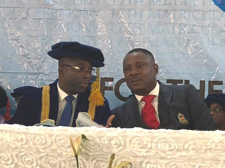 Why we Awarded the Vice Chancellor-Michael Jules