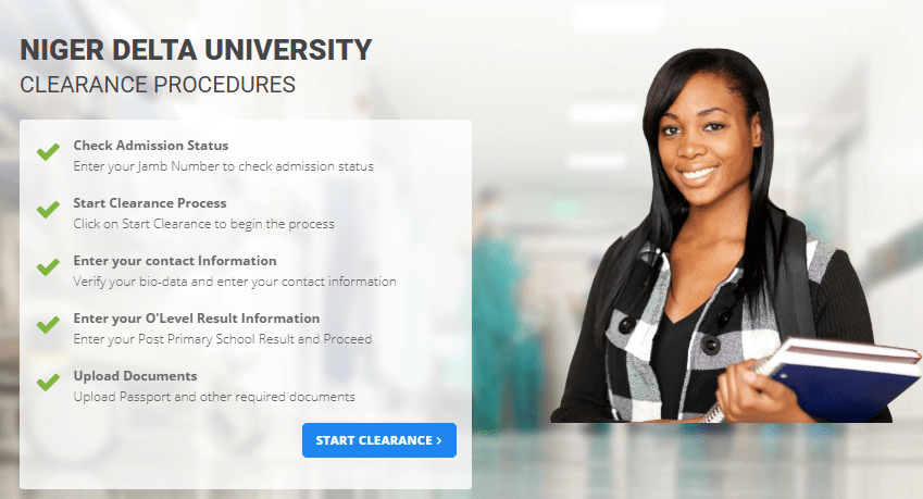 Top 10 Websites of Niger Delta University and their Functions
