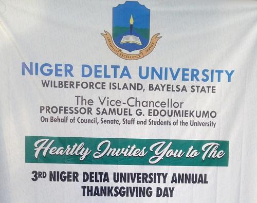 Niger Delta University Set for 2019 Annual Thanksgiving 12th December