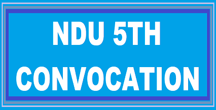 Niger Delta University 5th Convocation Ceremony New Date