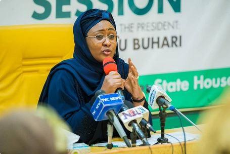 Aisha Buhari Shuts Down Office, Daughter In Self-Quarantine