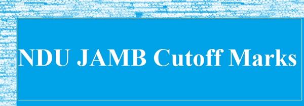NDU Cutoff Marks Behaviour: Cutoff Target For Jambites