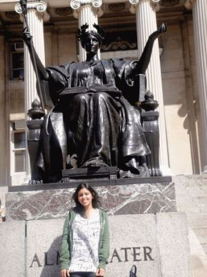 [Photo credit: Manali Purohit | My first time in New York City. In 2010, I visited my friend in New York City for the first time and also took a tour of the Columbia campus because I dreamt of applying to SIPA someday. 5 years later, I've realized that some dreams do come true.]