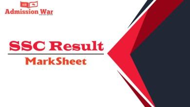 Photo of SSC Result Marksheet 2020 All Board। Eboardsresult.com