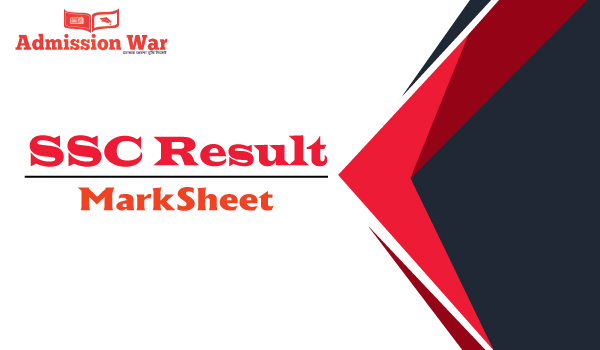 ssc result marksheet 2019