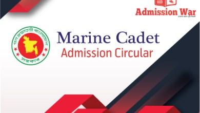 Marine Admission Circular 2020-21
