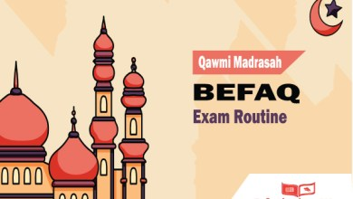 Photo of 43th BEFAQ Routine 2020 PDF । Qawmi Madrasah