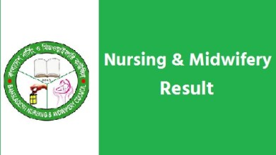 Photo of Nursing & Midwifery Result 2020 । Nursing 1st Year Result