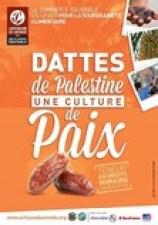 Affiche dattes de Palestine