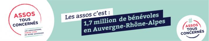Assos tous concernés 1,7 millions benevoles