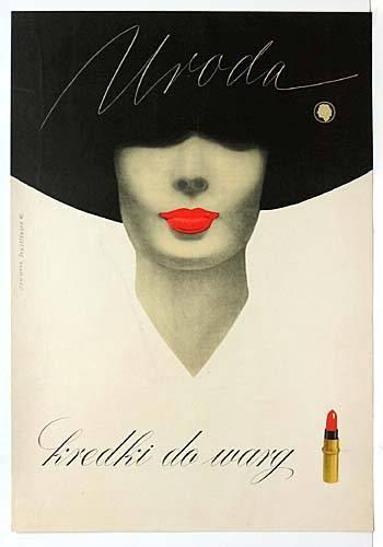 reklama kosmetyków vintage