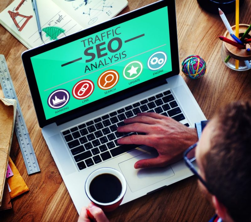 page ranking with seo analysis