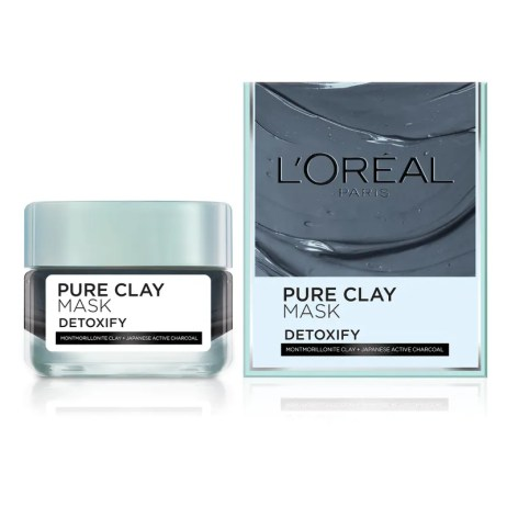 Image result for L'Oreal Paris Pure Clay Mask Detoxify nykaa