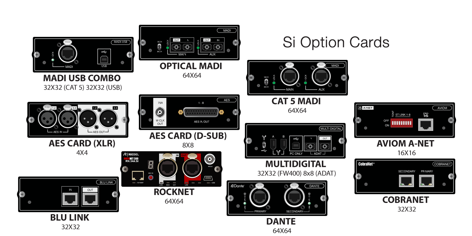 Si Option Cards Soundcraft