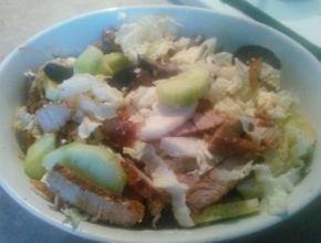 salata cu carne de porc