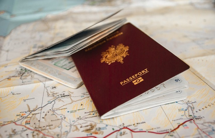 paşaportul la control