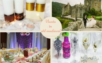 nunta în stil medieval