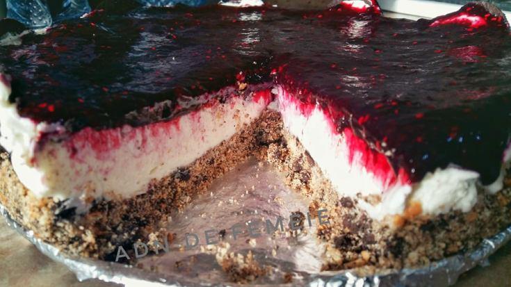 cheesecake fara coacere sectiune