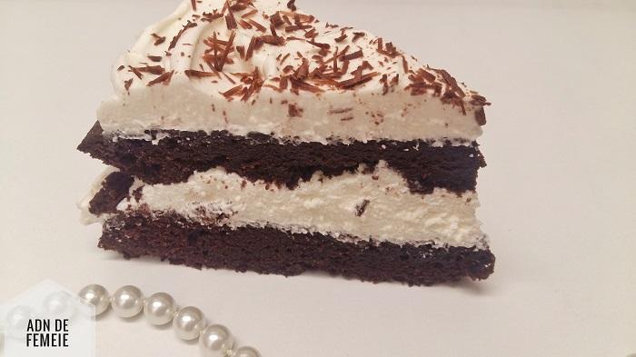 sectiune tort din ciocolata
