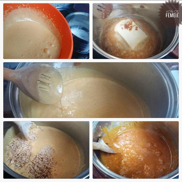 Caramel prajitura crocanta