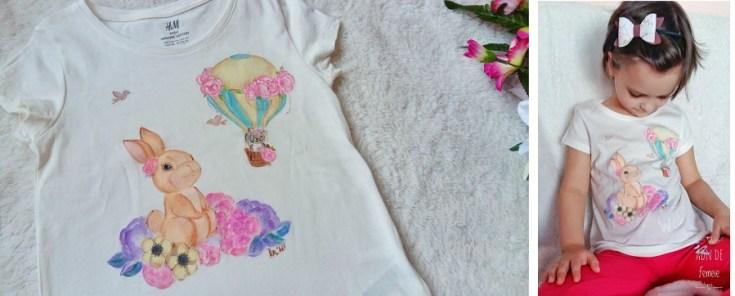tricou pictat handmade