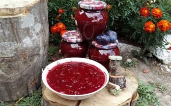 dulceata de prune fara zahar