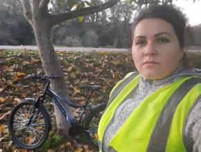 infricosator pe bicicleta