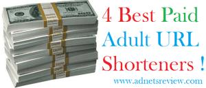 4 best paid adult url shorteners