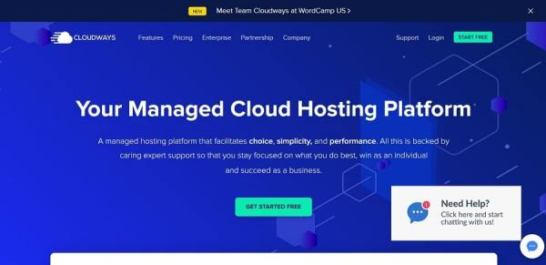 Cloudways Monthly Billed Hosting Plan Details
