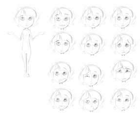 character sketch expressions 1b