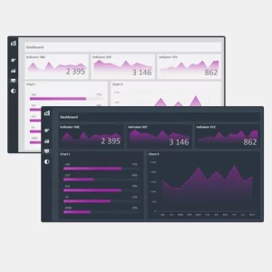 Cover - Excel Dashboard Design Duo Theme 3