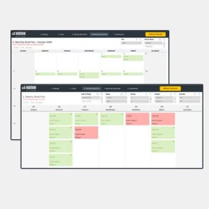 Work Plan Template Excel - Cover