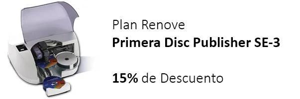 Promoción Plan Renove para Disc Publisher