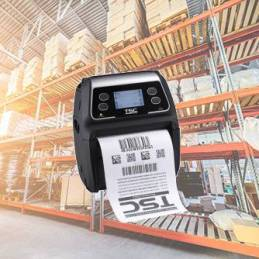 Impresora Portátil de Etiquetas Adhesivas y Tickets TSC Alpha 3r