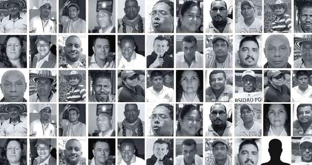 DENUNCIAN EXTERMINIO DE LIDERES CÍVICOS E INDÍGENAS EN COLOMBIA