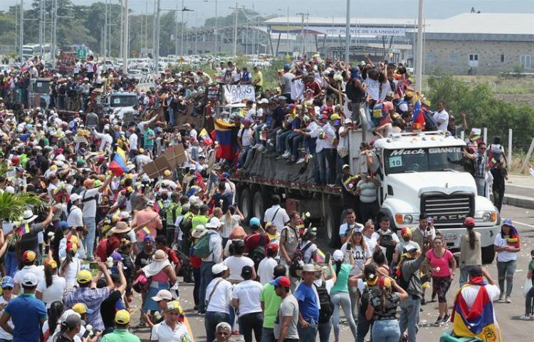 Tensa situación en zona de frontera de Colombia con Venezuela