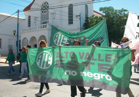 Protesta ATE Río Negro (2)
