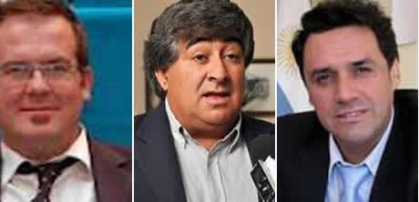tres legisladores