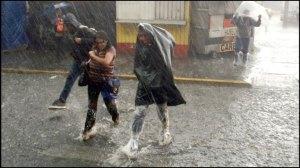 lluvias fuertes
