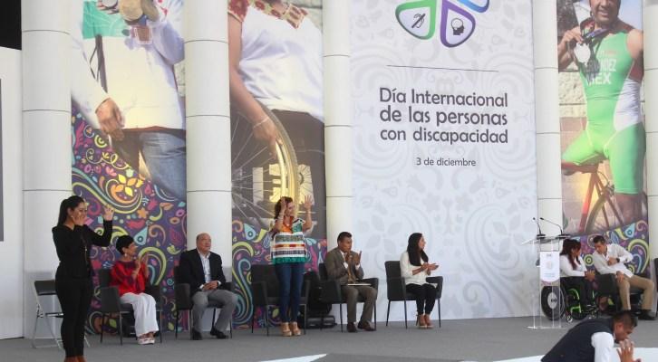 Participa Veronica Quevedo en conmemoración del Día Internacional de las Personas con Discapacidad (16:00 h)