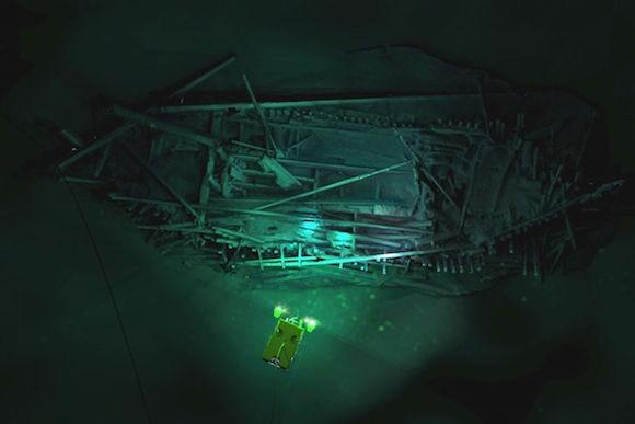 ¡Encuentran más de 40 naufragios en el Mar Negro prácticamente intactos! (22:00 h)